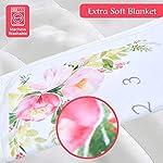 Baby-Milestone-Blanket-Newborn-Boys-Girls-Monthly-Blanket-by-Natural-Think-Premium-Soft-Plush-Fleece-Cute-Flower-Design-Ideal-Baby-Shower-Gift-Bonus-Wreath-Marker-Perfect-Photo-Props