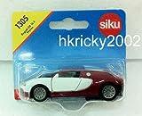 ware 1305 - Siku Super 1305 Bugatti EB 16.4 Veyron Red & White Sports Car Vehicle Model