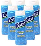 Coast Hair and Body Wash, Classic Scent, 13.5 Ounce (Pack of 6)