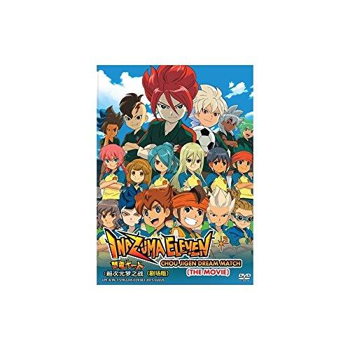 Inazuma Eleven : Chou Jigen Dream Match The Movie (DVD, Region All) English Subtitles