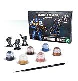 Warhammer 40,000 Primaris Intercessors + Paint Miniatures Set