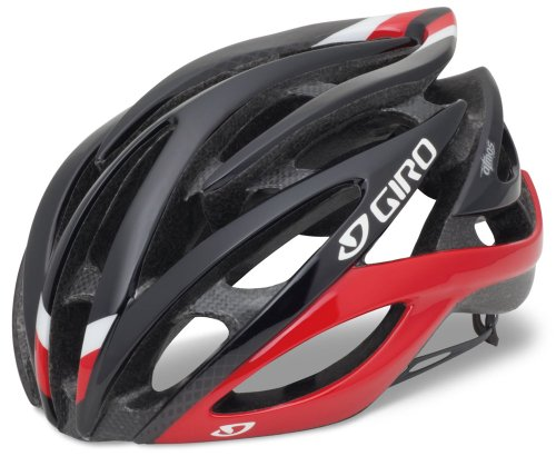 Giro Atmos Road Helmet - Giro Atmos Cycling Helmet (Red/Black, Small)