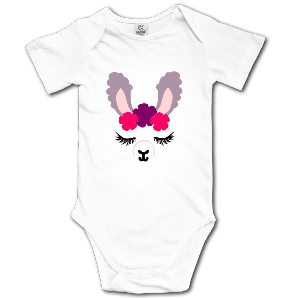 Cute Cartoon Deer Newborn Baby Short Sleeve Retro Romper Infant Summer Clothing