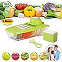 BleSavory Mandoline Slicer Vegetable Grater Food Container