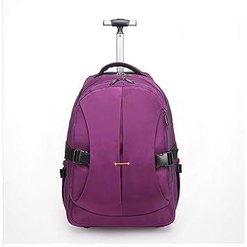 b11e3757587 Valise pour bagages à main approuvée par le sac à dos Trolley ...