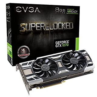 EVGA GeForce GTX 1070 SC GAMING ACX 3.0, 8GB GDDR5, LED, DX12 OSD Support (PXOC) Graphics Card 08G-P4-6173-KR (B01GX5YWAO) | Amazon price tracker / tracking, Amazon price history charts, Amazon price watches, Amazon price drop alerts