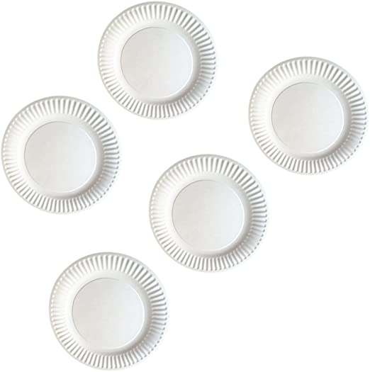 100 x 23cm White Quality Paper Party Dinner Plates