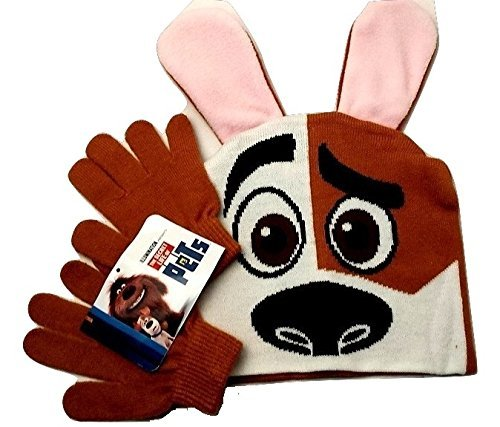 Pet Costumes Walmart (Hat & Gloves Winter Toddlers The Secret Life of Pets Winter Toy Figure)