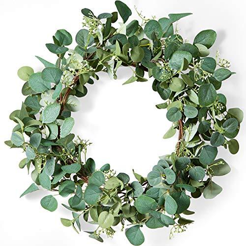 LIFEFAIR Green Eucalyptus Leaf