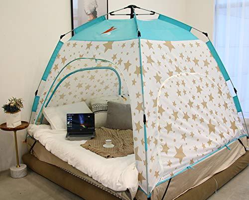 Automatisches Innenbettzelt Warmes und winddichtes kaltes Zelt Schlafsaal-einzelnes doppeltes Winterzelt,StarsBlau,78.7  47  57in B07QDMPB81 Eisangeln Wert