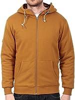 Volcom Rust Standard II Sherpa Lined Zip Hoody