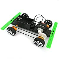 Vibola 3D Cube Puzzle Toy -Educational Toy Mini Powered Toy DIY Car Kit,Early Development Learning Toy Training Tools Mini Powered Toy DIY Car Kit