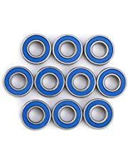 10 MR115-2RS Miniature Ball Bearings, 5x11x4mm Steel Bearings, Used for 3D Printers, Quadcopters or Models