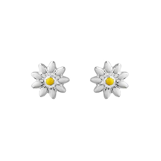 item women needle girl brinco silver style top daisy earrings fashion quality korean new design for