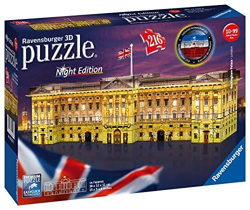 (Ravensburger Puzzle 12529 Ravensburger 12529-Buckingham Palace at Night 3D Puzzle)
