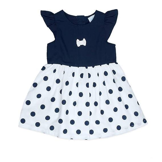 7469029ac3430 Feetje - Robe - Bébé (Fille) 0 à 24 Mois - Bleu - 12 Mois  Amazon.fr   Vêtements et accessoires
