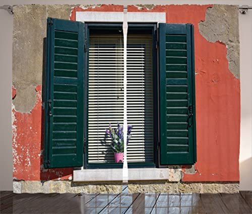 Ambesonne Country Curtains - the best window curtain panel for the money