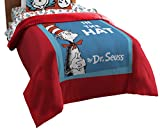 Northwest The Company Dr. Seuss' Cat in the Hat Cover Twin Comforter, 64'' x 86''