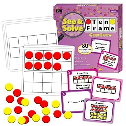 Buy EAI Education See & Solve Ten Frame Centers Online at Low Prices ...