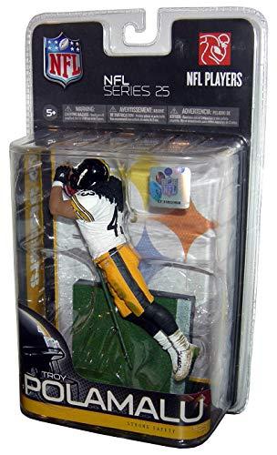 McFarlane Toys NFL Sports Picks Series 25 Action Figure Troy Polamalu (Pittsburgh Steelers) Black Jersey Variant