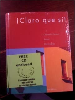 Amazon.com: Claro Que Si With Audio Cd And Cd 1.0, Fifth ...