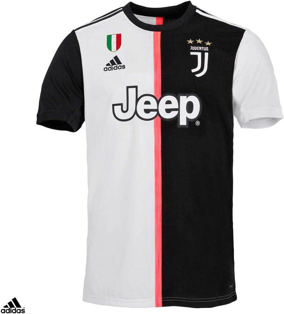 Juventus Maglia Ronaldo Cr7 Gara Home Ufficiale Stagione 2019 2020 100 Prodotto Ufficiale 100 Originale Bambino Patch Scudetto Sempre Inclusa Taglia 152 Cm 11 12 Anni Amazon It Sport E Tempo Libero