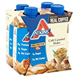 Atkins Ready To Drink Shake, Café Caramel, 11 Ounce (Pack of 24)