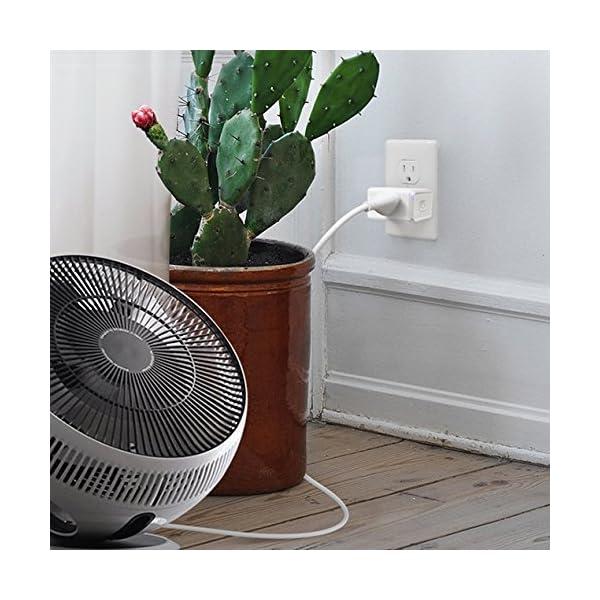 Kasa Smart WiFi Plug Mini by TP-Link - Smart Plug, No Hub Required, Works  with Alexa and Google (HS105P3)