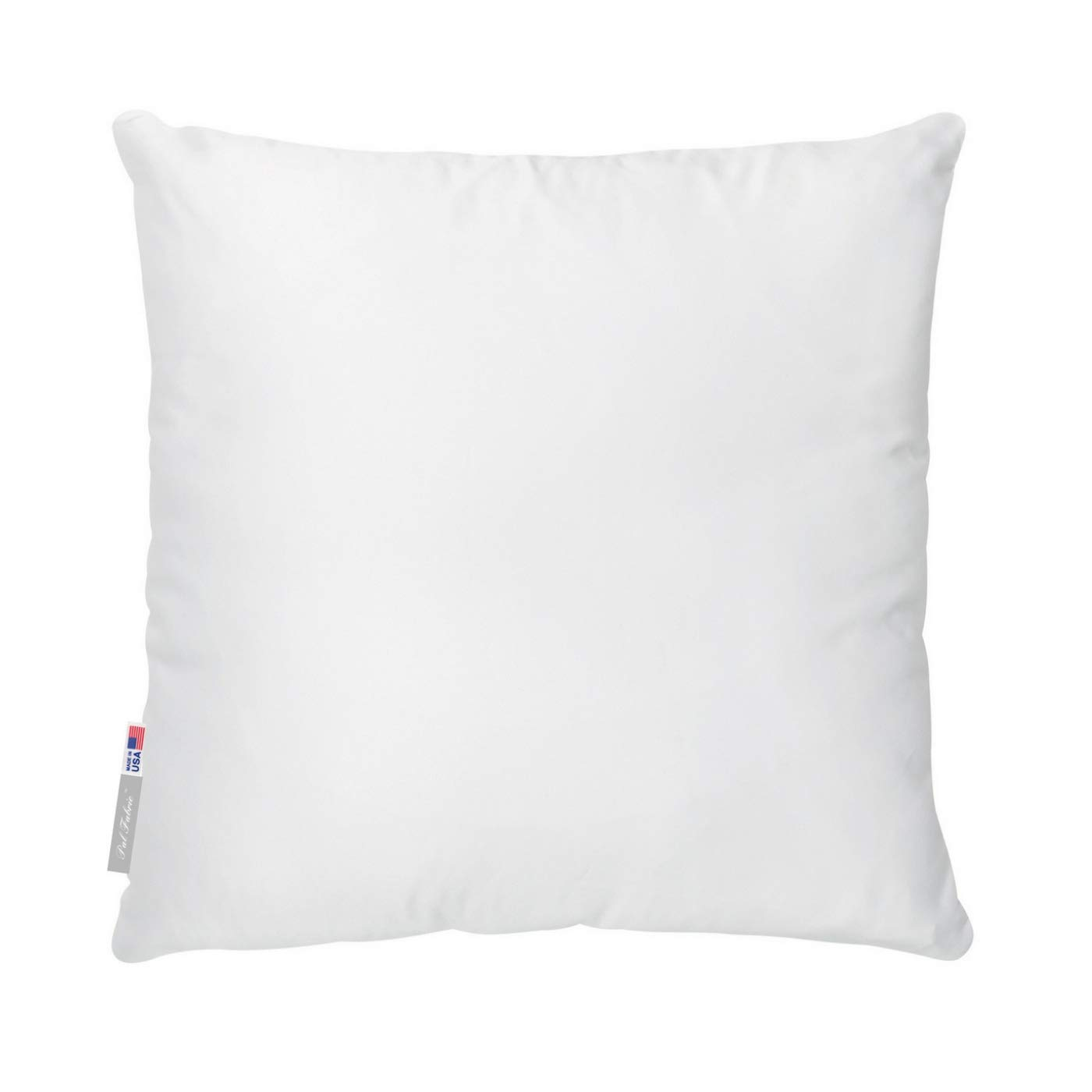Pal Fabric Square Sham Pillow Insert 14x14 Made In Usa For 14 X14 Pillow Cover 14x14