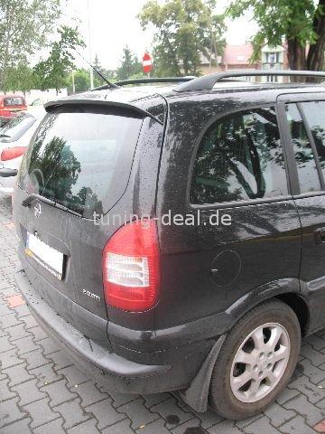 Opel Zafira Heckspoiler Tuning Spoiler OPC