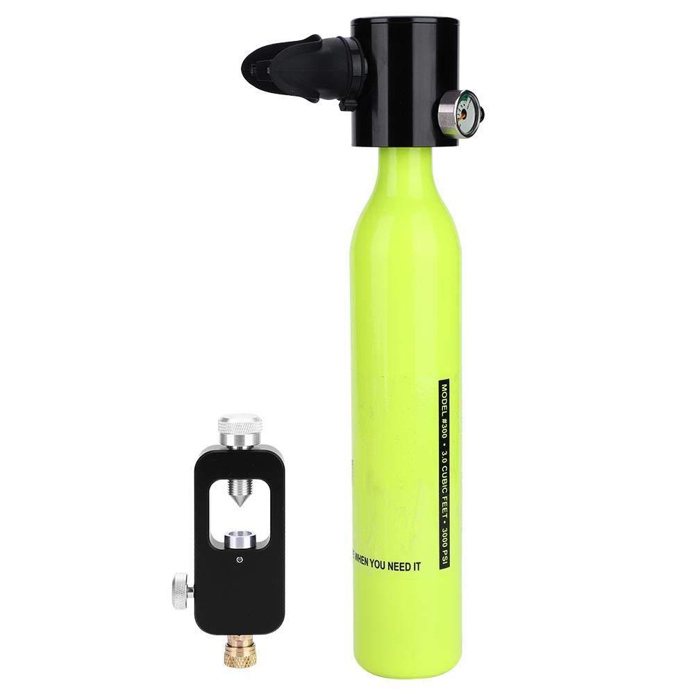 ダイビング 酸素シリンダー セット 酸素ボンベ 詰め替えアダプター セット B07MZTVJ3J