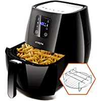 Cozyna SAF-32 Digital Air Fryer Touchscreen (3.7QT) with...