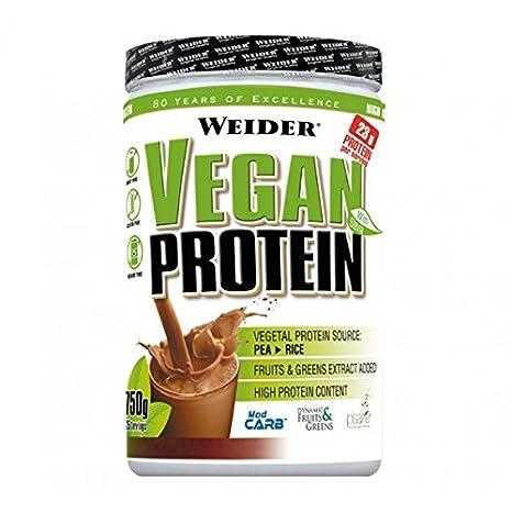 Weider - Vegan Protein (Proteína Vegetal) - 750g - Capuchino