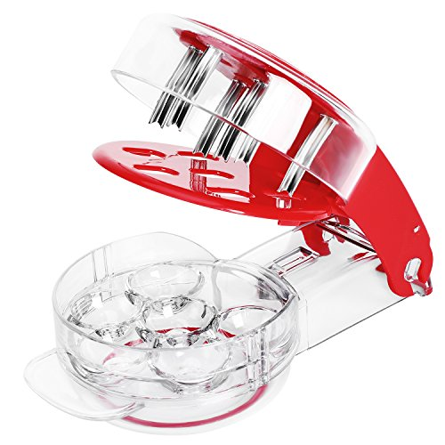 Ordekcity Cherry Pitter, Cherrystone Remover 6 Cherries for Juicing Kitchen Gadgets