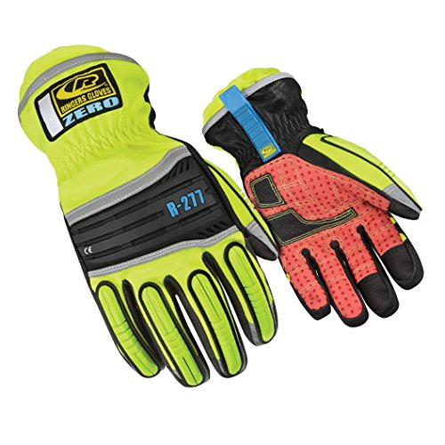 Ringer Down - Ringers Gloves R-277 Zero, Heavy Impact Protection, Insulated for Cold Conditions, Large