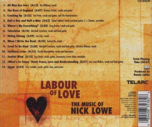 Labour of Love-Music of Nick Lowe