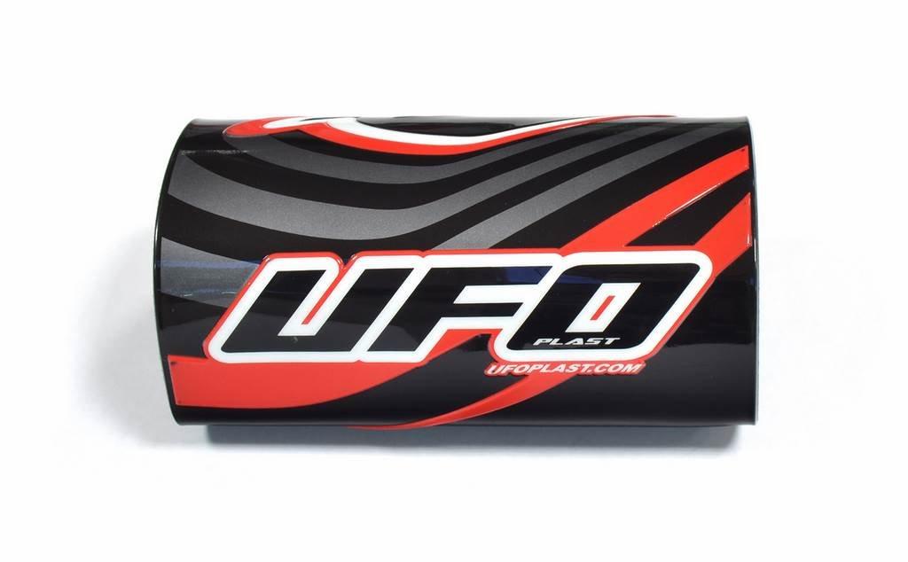 UFO - 41566 : Protector Tijas De Manillar (Morcilla Grande) Negro Pr02510-K
