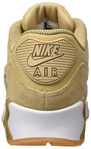 Nike Damen Air Max 90 SE Gymnastikschuhe Beige (Mushroom/mushroom Gum/light Brown/white)