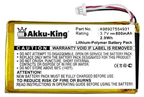 Akku-King batería para Sony Reader eBook PRS-600, PRS-600/BC, PRS ...