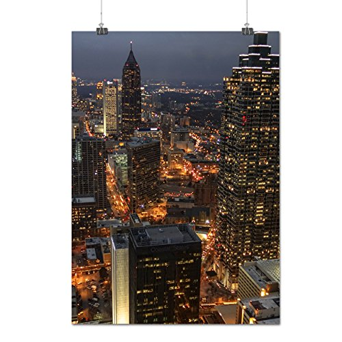 Buy cheap big city nightlife town skyview matte glossy poster 12x17 inches wellcoda