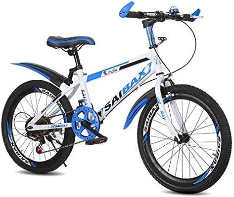 MUYU 7 velocidades Bicicleta Infantil,Adulto Bici De Montaña 20,22 ...