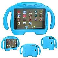"Capa Iguy Infantil Tablet Samsung Galaxy Tab A 8"" SM-T350 T355 P350 P355 - Azul Claro"