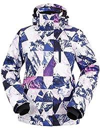 Women's Performance Insulated Ski Jacket with Zip-Off Hood