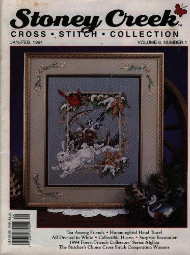 Stoney Creek Collection Magazine - Stoney Creek Magazine - Cross Stitch Collection - Jan/Feb 1994 - Vol. 6 #1