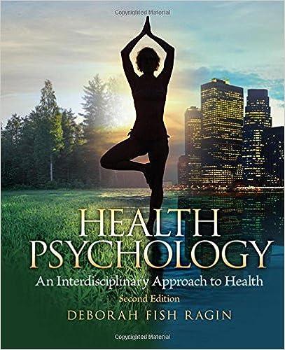 HEALTH PSYCHOLOGY RAGIN PDF