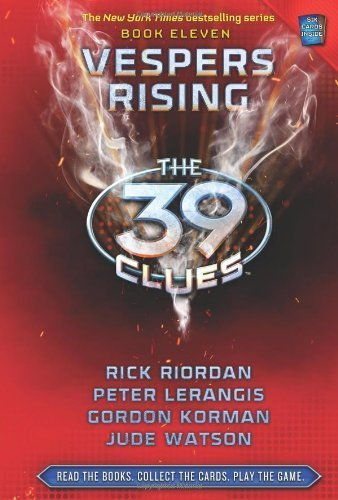 39 clues book vespers rising - 4