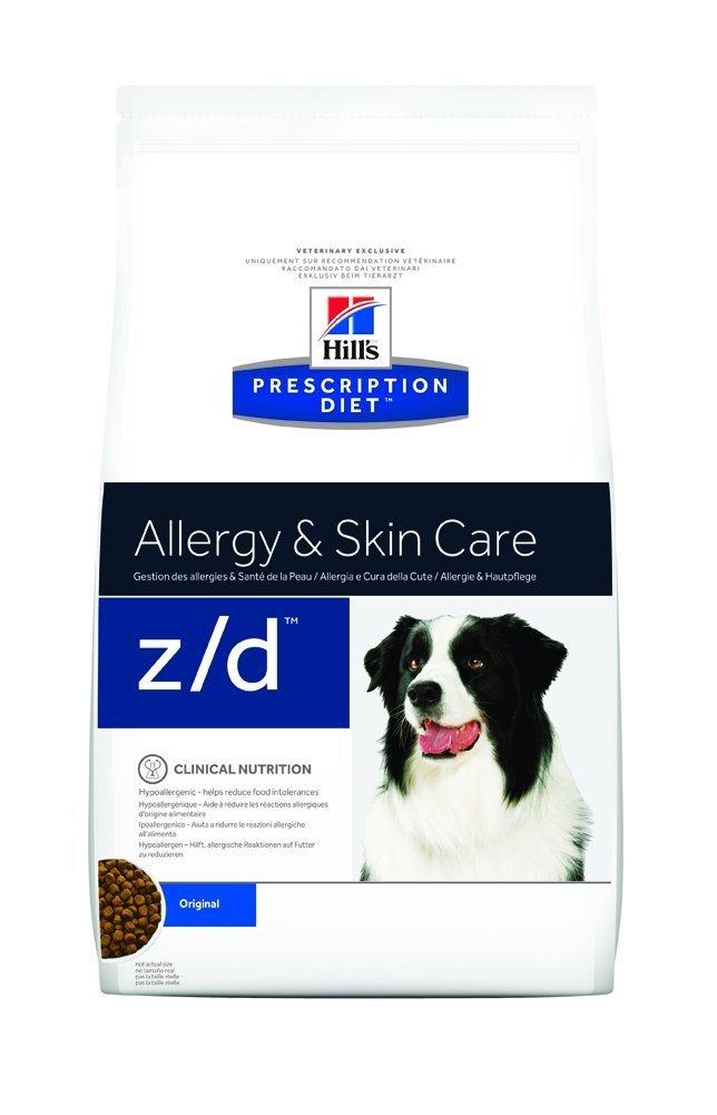 Hills Prescription Diet z//d Canine Ultra allergen Free mangime Secco per intolleranze Alimentari kg.10