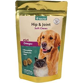 Amazon.com : NaturVet - Hip & Joint - 120 Soft Chews