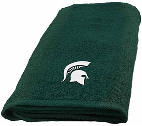 NCAA Michigan State University Spartans Bed and Bath Collection (Hand Towel)