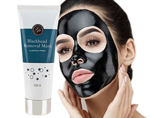 Blackhead Remover Peel Off Face Mask (120g) - Purifies & Deep Cleanses Clogged Pores - Use as Nose Strip - Facial Removal Mask by Grace & Stella Co. ()